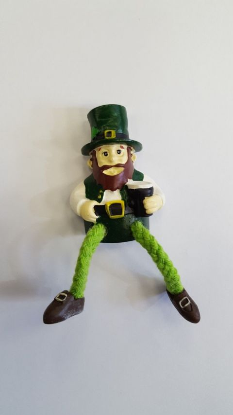Leprechaun with Guinness